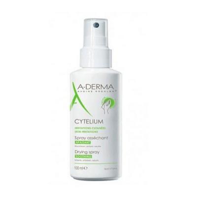 A-Derma Cytelium (А-Дерма Сителиум) Спрей подсушивающий для ухода за кожей детей и взрослых, 100 мл.