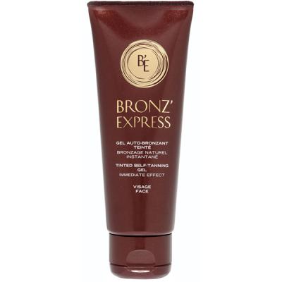 Bronz'express Гель-автозагар для лица, 75 мл