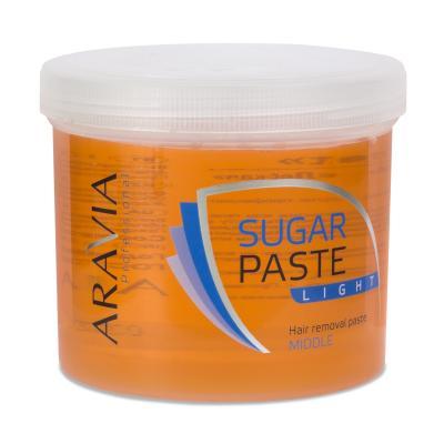 "ARAVIA Professional Сахарная паста для шугаринга ""Легкая"", 750гр"