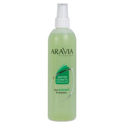 ARAVIA Professional Вода косметическая минерализованная с мятой и витаминами, 300мл
