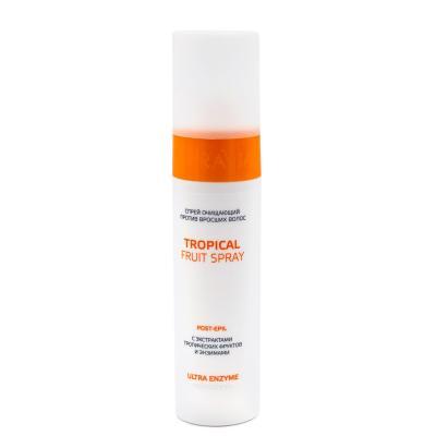 ARAVIA Professional Спрей очищающий против вросших волос с экстрактами тропических фруктов и энзимами Troical Fruit Spray, 250мл
