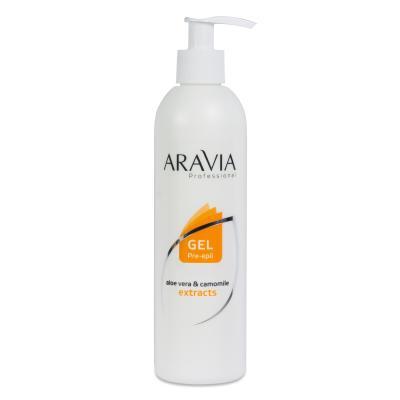 ARAVIA Professional Гель для обработки кожи перед депиляцией, 300мл