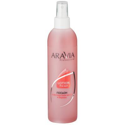 ARAVIA Professional Лосьон для подготовки кожи перед депиляцией, 300мл