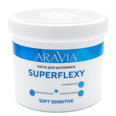 ARAVIA Professional Сахарная паста для шугаринга SUPERFLEXY Soft Sensitive, 750гр