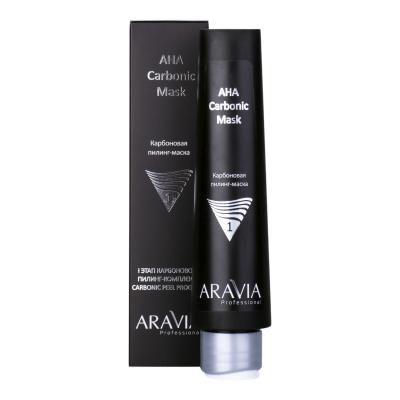 ARAVIA Professional Карбоновая пилинг-маска AHA Carbonic Mask, 100 мл