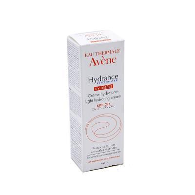 Avene HYDRANCE OPTIMALE UV LEGERE SPF 20 (Гидранс Оптималь лежер UV20) Крем для норм./смеш. кожи, увлажняющий защитный, 40 мл