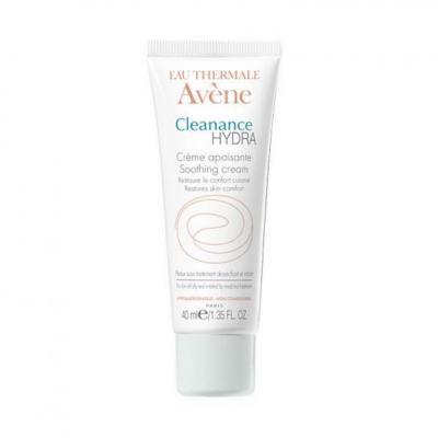 Avene CLEANANCE HYDRA (Клинанс Гидра) Крем для пересушенной проблемной кожи, успокаивающий, 40 мл