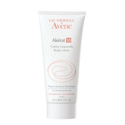 Avene AKERAT 10 Крем для тела для очень сухой кожи, интенсивный увлажняющий, 200 мл