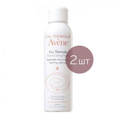 Avene Набор из 2-х продуктов - Вода термальная, 2х150 мл