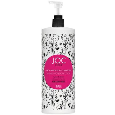 Barex Joc Color Conditioner NEW, Бальзам-кондиционер Стойкость цвета с абрикосом и миндалём, 1000 мл