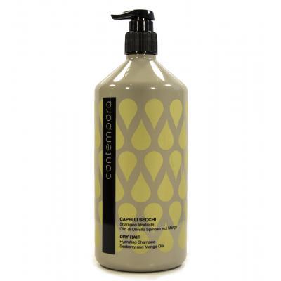 Contempora Shampoo Idratante Olio di Olivello Spinoso e di Mango / Шампунь увлажняющий с маслом облепихи и маслом манго, 1000 мл