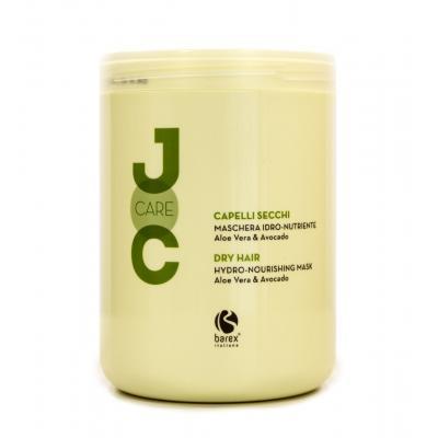 Barex Joc Care Hydro-Nourishing Mask / Маска для сухих и ослабленных волос с алоэ вера и авокадо, 1000 мл