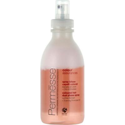Barex Permesse Сoloured Hair Dual Phase Spray / Двухфазный спрей для окрашенных волос с экстрактом Личи и маслом Энотеры, 250 мл
