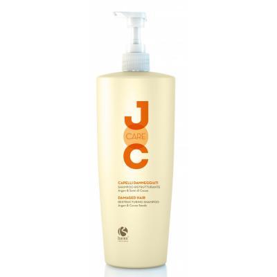 """Barex Joc Care Restructuring Shampoo / Шампунь """"Глубокое восстановление""""с аргановым маслом и какао бобами, 1000 мл"""