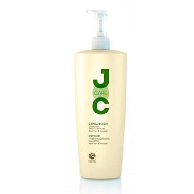 Barex Joc Care Hydro-Nourishing Shampoo / Шампунь для сухих и ослабленных волос с алоэ вера и авокадо, 1000 мл