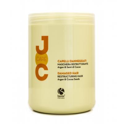 """Barex Joc Care Restructuring Mask / Маска """"Глубокое восстановление"""" с аргановым маслом и какао бобами, 1000 мл"""