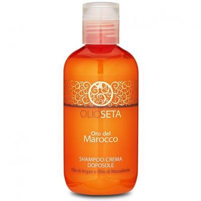 Barex OLS ODM After Sun Cream-Shampoo / Золото Марокко Крем-шампунь после загара, 250 мл