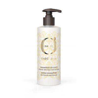 Barex OLS Shine shampoo / Шампунь-блеск с протеинами шелка и семенем льна, 250 мл