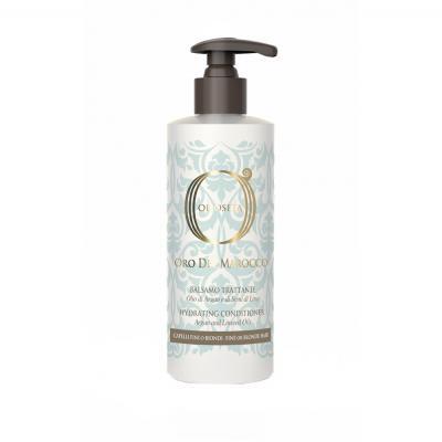 Barex OLS ODM Hydrating Conditioner / Золото Марокко Кондиционер увлажняющий для тонких и светлых волос с маслом Арганы и маслом семян льна, 250 мл