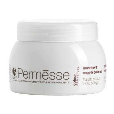 Barex Permesse Coloured hair mask / Маска для окрашенных волос с экстрактом Личи и маслом Арганы, 250 мл