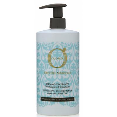 Barex OLS ODM Hydrating Conditioner / Золото Марокко Кондиционер увлажняющий для тонких и светлых волос с маслом Арганы и маслом семян льна, 750 мл