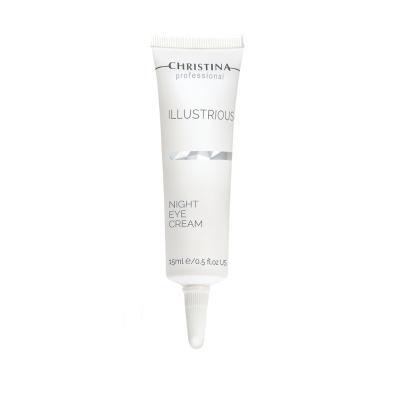 Illustrious Night Eye Cream - Омолаживающий ночной крем для кожи вокруг глаз, 15 мл