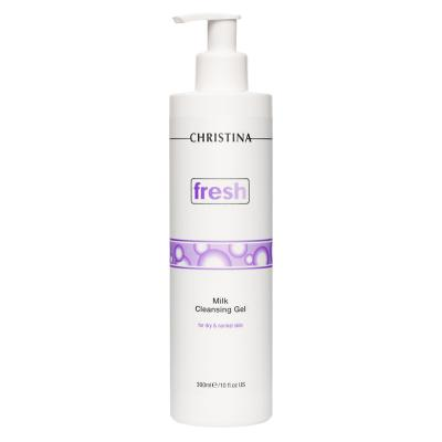 Fresh Milk Cleansing Gel - Молочное мыло для сухой и нормальной кожи, 300мл