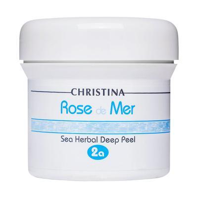 """Rose de Mer 2а Sea Herbal Deep Peel - Натуральный пилинг """"Роз де Мер"""" (порошок), 100мл"""