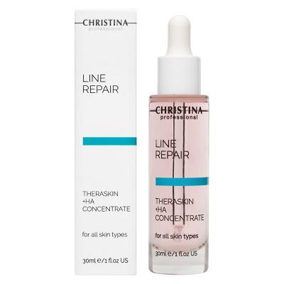 Line Repair - Theraskin + HA - Регенерирующие увлажняющие капли Тераскин + НА, 30мл