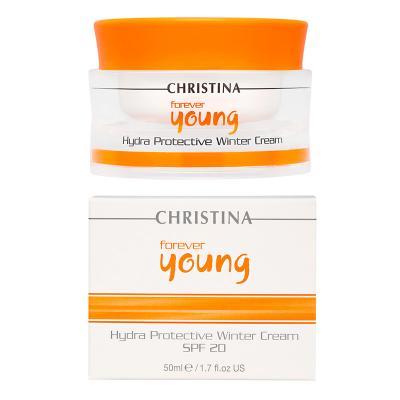 Forever Young Hydra Protective Winter Cream SPF-20 - Защитный крем для зимнего времени года с СПФ-20, 50мл