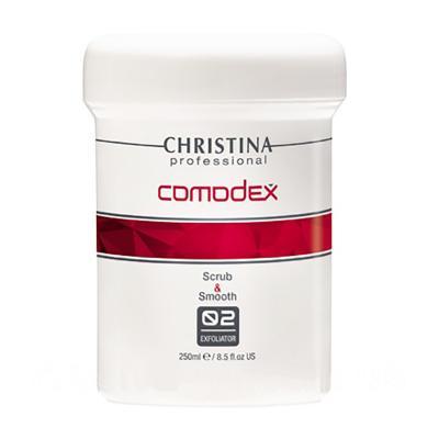 COMODEX 2 Scrub & Smooth Exfoliator - Выравнивающий скраб-эксфолиатор (шаг 2), 250мл