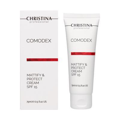 COMODEX Mattify & Protect Cream SPF15 - Матирующий защитный крем SPF15, 75мл