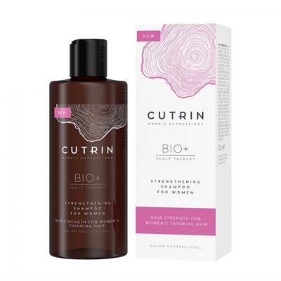 CUTRIN BIO+ 2019 Шампунь-бустер для укрепления волос у женщин, 250 мл