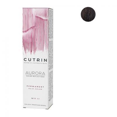 Cutrin Aurora Крем-краска для волос 4.16, 60 мл
