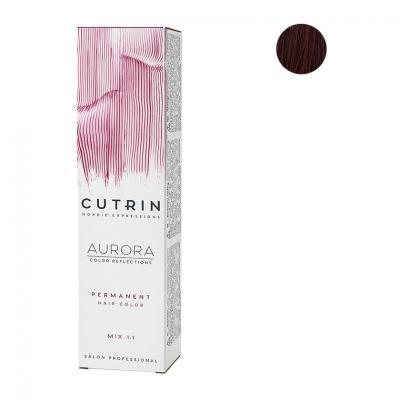 Cutrin Aurora Крем-краска для волос 5.5, 60 мл