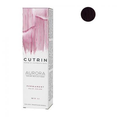 Cutrin Aurora Крем-краска для волос 5.56, 60 мл