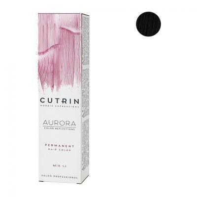 Cutrin Aurora Крем-краска для волос 4.7, Черный кофе 60 мл