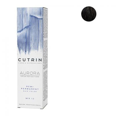 Cutrin Aurora Безаммиачный краситель 4.0, 60 мл