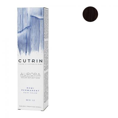 Cutrin Aurora Безаммиачный краситель 5.74, 60 мл