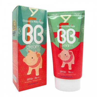 Milky Piggy BB Cream SPF50 / BB крем для лица Увлажняющий, 50мл