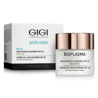 Bioplasma Moist Supreme Spf 20 Крем Увлажняющий Для Норм. И Сухой Кожи С Spf 20, 50мл