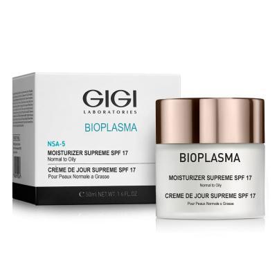 Bioplasma Moist Supreme Spf 17 Крем Увлажняющий Для Жирной Кожи С Spf 17, 50мл