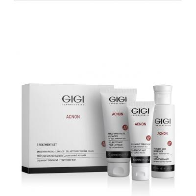 ACNON Set / Набор трехступенчатый Чистая кожа (мыло 100мл, эссенция дневн. 120мл, крем ночн. 50мл)
