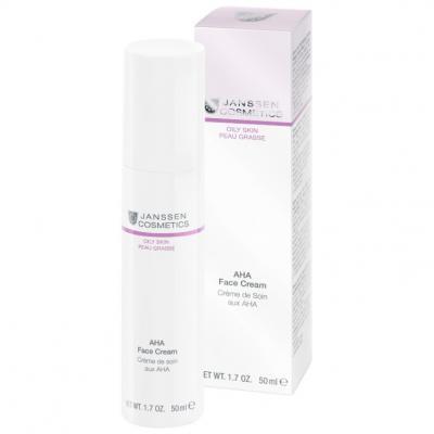 AHA Face Cream / Лёгкий активный крем с фруктовыми кислотами, 50мл