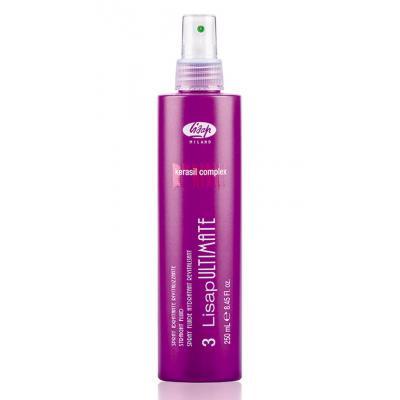 3 Straight Fluid / Разглаживающий термо-защищающий флюид для волос, 250мл