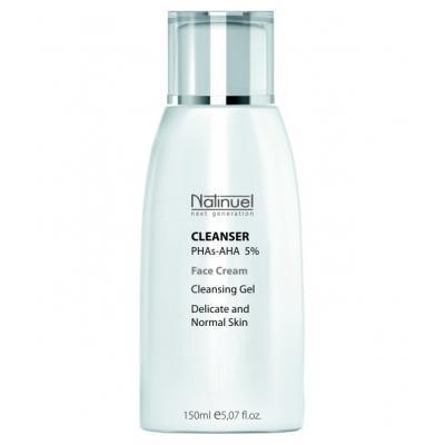 Cleanser PHAs-AHA 5% / Очищающий гель РНА-АНА5% для сухой и чувствительной кожи, 150 мл
