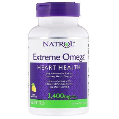 Extreme Omega (Двойная Омега-3) 2400 mg, 60 Capsules
