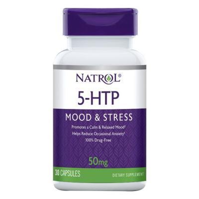 5-HTP (5-гидрокситриптофан) 50 mg, 30 Capsules