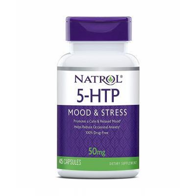5-HTP (5-гидрокситриптофан) 50 mg, 45 Capsules