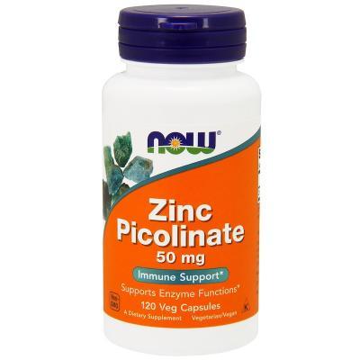 Пиколинат цинка (Zinc Picolinate) 50 мг, 120 капсул